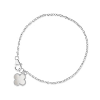 Sterling_Silver_White_Mother_of_Pearl_Clover_Charm_Bracelet