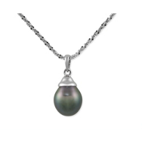 14K_White_Gold_9x10mm_Tahitian_Cultured_Pearl_Pendant