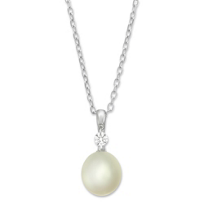 Sterling_Silver_Freshwater_Cultured_Pearl_and_White_Topaz_Pendant