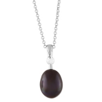 Sterling_Silver_Black_Freshwater_Cultured_Pearl_and_White_Topaz_Pendant