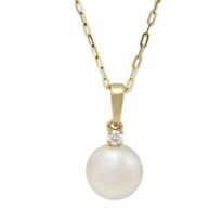 14K_Yellow_Gold_Freshwater_Cultured_Pearl_and_Diamond_Pendant