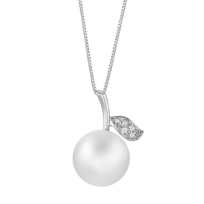 18K_White_Gold_White_South_Sea_Cultured_Pearl_and_Diamond_Apple_Pendant,_18""