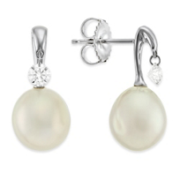 Tara_18K_White_Gold_South_Sea_Cultured_Pearl_and_Diamond_Earrings,_9x10mm
