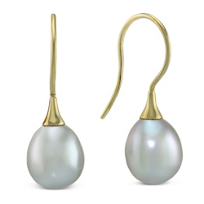 14K_Yellow_Gold_Grey_Freshwater_Cultured_Pearl_Earrings