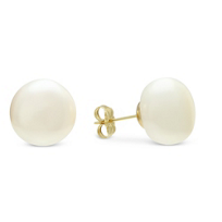 14K_Yellow_Gold_Freshwater_Cultured_Pearl_Button_Earrings