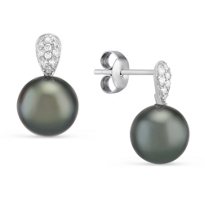 14K_White_Gold_Black_Tahitian_South_Sea_Cultured_Pearl_and_Diamond_Post_Earrings