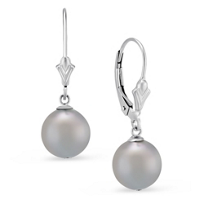 14K_White_Gold_Gray_Cultured_Pearl_Leverback_Drop_Earrings