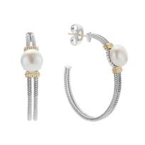 Lagos_Sterling_Silver_Luna_Pearl_Hoop_Earrings