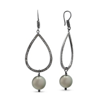 Vincent_Peach_Sterling_Silver_Diamond_and_Black_Tahitian_South_Sea_Cultured_Pearl_Drop_Earrings