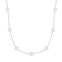 14K_White_Gold_Freshwater_Cultured_Pearl_Station_Necklace