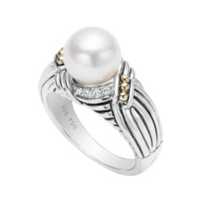 Lagos_Sterling_Silver_&_Yellow_Gold_Pearl_Diamond_Luna_Ring