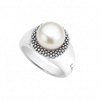 Lagos_Sterling_Silver_Freshwater_Cultured_Pearl_Luna_Ring