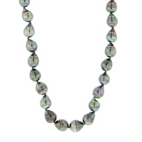 tara_sterling_silver_black_tahitian_cultured_baroque_pearl_strand,_16""