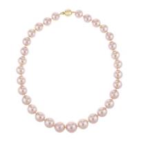 "tara_18k_yellow_gold_peach_pearl_freshwater_cultured_pearl_strand,_16.75"""