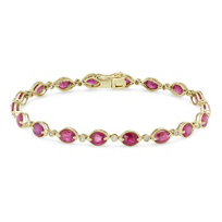 14K_Yellow_Gold_Oval_Ruby_and_Round_Diamond_Bracelet
