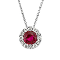 18K_White_Gold_Round_Ruby_and_Round_Diamond_Halo_Pendant