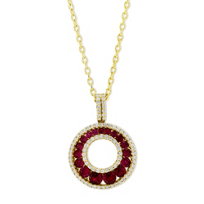 14K_Yellow_Gold_Ruby_and_Diamond_Circle_Pendant