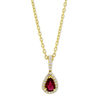 14K_Yellow_Gold_Pear_Shape_Ruby_and_Diamond_Pendant