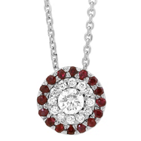 14K_White_Gold_Round_Diamond_Pendant_With_Diamond_and_Ruby_Halo