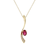 14k_yellow_gold_oval_ruby_and_diamond_curved_pendant,_18""