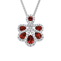 14K_White_Gold_Ruby_and_Diamond_Petals_Pendant,_18""