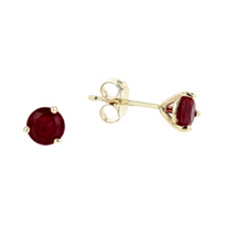 14k_yellow_gold_round_ruby_stud_earrings