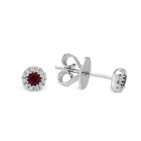 14K_White_Gold_Ruby_and_Diamond_Halo_Earrings