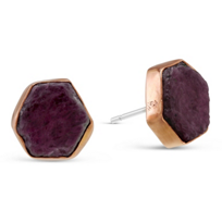 Melissa_Joy_Manning_14K_Rose_Gold_&_Sterling_Silver_Ruby_Slice_Earrings