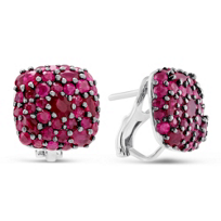 Sterling_Silver_Ruby_Cushion_Earrings
