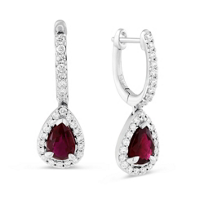 14K_White_Gold_Pear_Shape_Ruby_and_Round_Diamond_Earrings