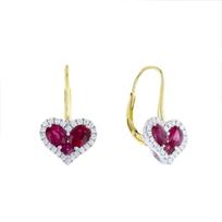 18k_yellow_&_white_gold_ruby_&_diamond_halo_heart_drop_earrings_