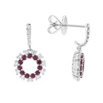 14k_white_gold_ruby_&_diamond_dangle_earrings