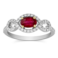 14K_White_Gold_Oval_Ruby_and_Round_Diamond_Ring