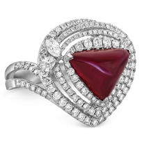 18K_White_Gold_Cabochon_Ruby_and_Diamond_Ring