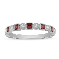 14K_White_Gold_Ruby_and_Diamond_Milgrain_Geometric_Ring