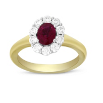 18K_Yellow_&_White_Gold_Oval_Ruby_and_Round_Diamond_Halo_Ring