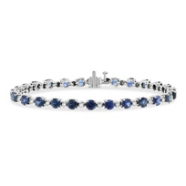 14k_white_gold_round_sapphire_&_diamond_alternating_station_bracelet
