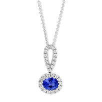 14K_White_Gold_Horizontal_Oval_Sapphire_and_Round_Diamond_Pendant