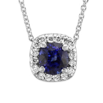 18K_White_Gold_Sapphire_and_Diamond_Halo_Pendant