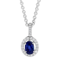 14K_White_Gold_Oval_Sapphire_and_Round_Diamond_Pendant