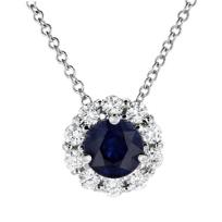 18k_white_gold_round_sapphire_&_diamond_halo_pendant