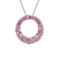 14K_Rose_Gold_Pink_Sapphire_&_Diamond_Open_Circle_Pendant,_0.26cttw