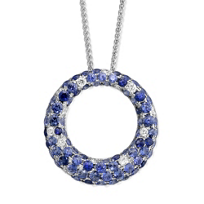 14K_White_Gold_Sapphire_&_Diamond_Open_Circle_Pendant,_0.26cttw