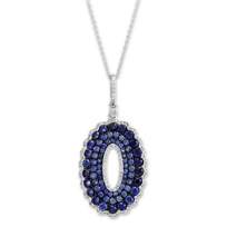 14K_White_Gold_Sapphire_and_Diamond_Oval_Pendant
