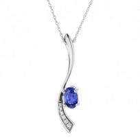 "14k_white_gold_sapphire_&_diamond_wave_pendant,_18"""