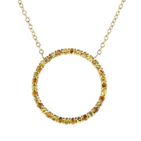 18k_yellow_gold_orange_&_yellow_sapphire_open_circle_necklace,_16""