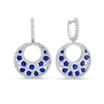 14K_White_Gold_Sapphire_and_Diamond_Crescent_Drop_Earrings