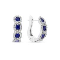 14k_white_gold_sapphire_&_diamond_chain_hoop_earrings