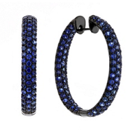 18k_white_gold_&_black_rhodium_sapphire_pave_inside_out_hoop_earrings