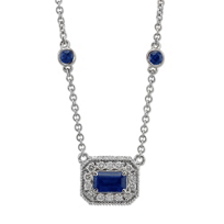 Christopher_Designs_18K_White_Gold_Emerald_Cut_Sapphire_and_Round_Diamond_Necklace